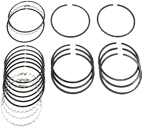 Piston Ring Set for 1800 cc VW Type 2 4 Transporter 412 Porsche 914 1.8-0