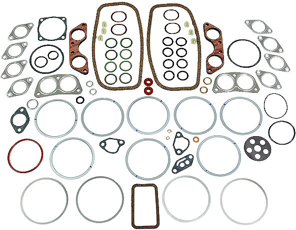 VW Engine Gasket Set Volkswagen Transporter Type 2 4 1800 Porsche 914 1.8-0