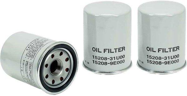 3 Oil Filters for Infiniti FX45 I30 M45 Q45 QX4 QX56 Nissan Altima Armada Maxima-0