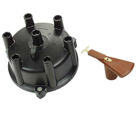 Distributor Cap & Rotor for Toyota Land Cruiser 88-92 3F FJ62 FJ80-0