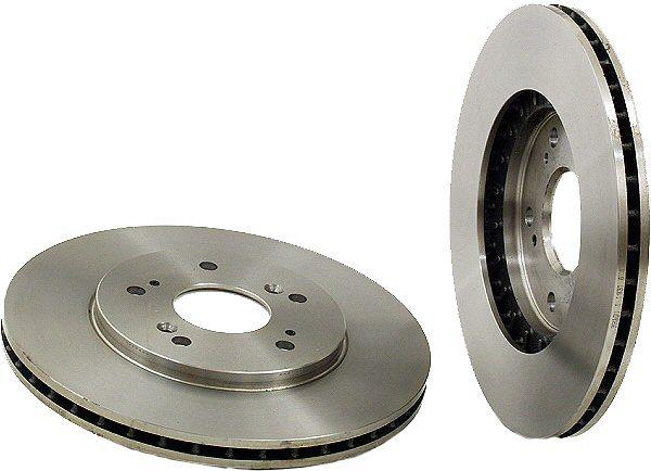 Rear Disc Brake Rotors for Acura NSX C30 91-96-0