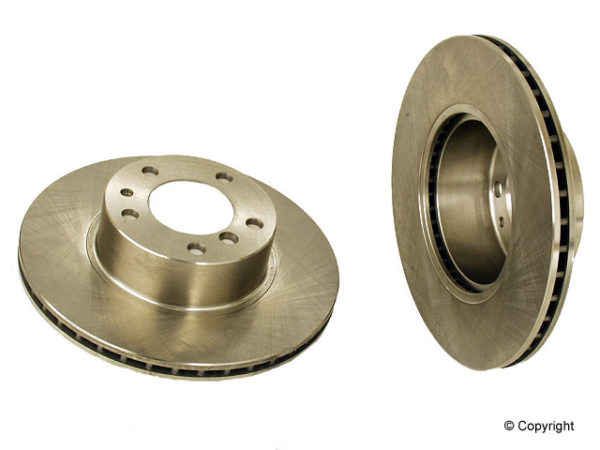 Front Brake Disc Rotors BMW 525 530 533 i E34 525i 533i-0