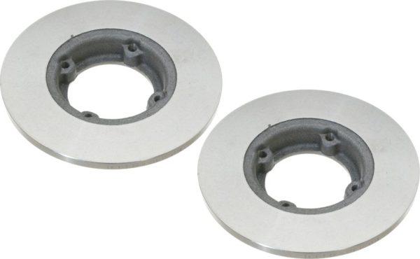 Pair Front Disc Brake Rotors Chevy Sprint Geo Metro-10464