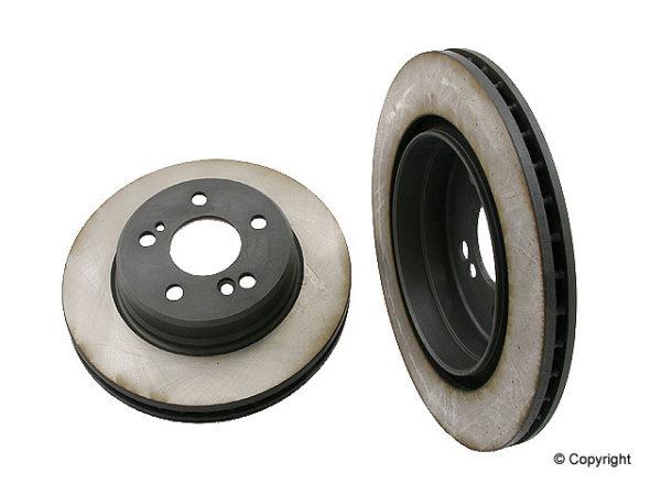 Rear Disc Brake Rotors Mercedes Benz 400e E420 C36 AMG (eBay #300251976864, a_blancoard4)-0