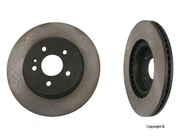 Front Disc Brake Rotors Mercedes Benz ML320 ML430 ML350-0
