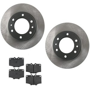 Disc Brake Rotors and Pads Toyota Land Cruiser FJ40 55-0