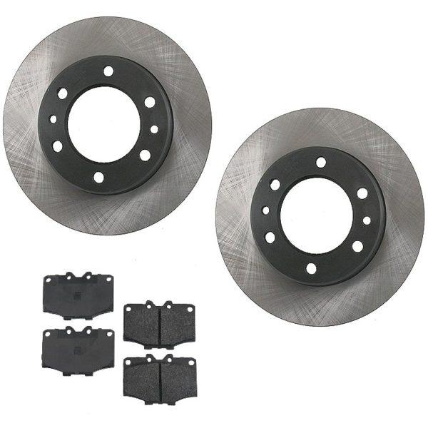 Disc Brake Rotors and Pads Toyota Land Cruiser FJ40 55-0