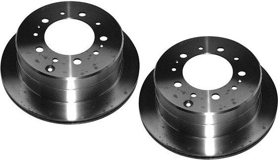 Rear Disc Brake Rotors for Toyota Land Cruiser Lexus LX470-0