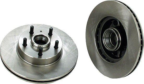 Front Disc Brake Rotors Volvo & Hub 740 745 760-0