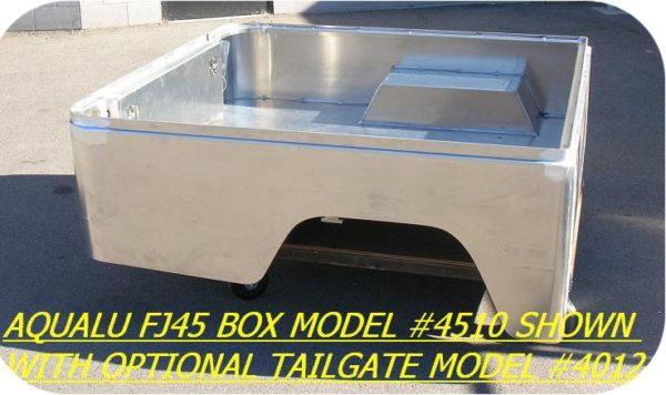 Aluminum Short Bed for Toyota Land Cruiser FJ45 SWB-7860