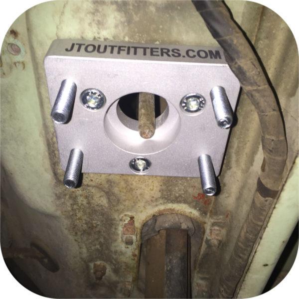 Tandem Brake Master Cylinder Firewall Adapter for Toyota Land Cruiser FJ40 FJ45-21260