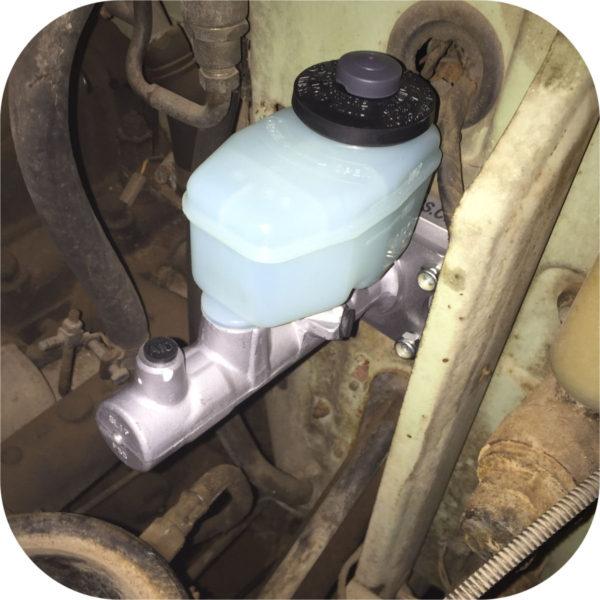 Tandem Brake Master Cylinder Firewall Adapter for Toyota Land Cruiser FJ40 FJ45-21261