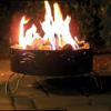 Portable Folding Propane Fire Pit Campfire Camping Survival Style Camper RV Lava-6682