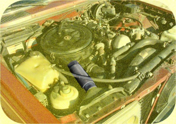 Air Intake Hose Mercedes Benz 300 d td cd 123 W123-5620