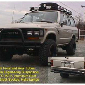 "Safari Roof Rack 50"" x 84"" x 5""-0"