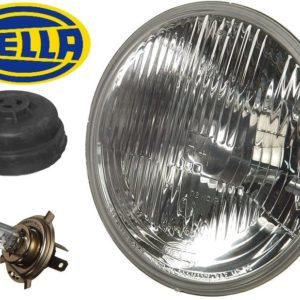 "Hella H4 7"" Round Composite Head Lamp Light-0"
