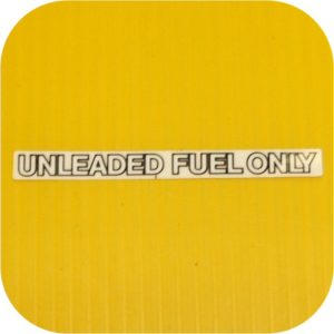 Unleaded Fuel Decal For Toyota Land Cruiser FJ40 FJ60 Sticker-0