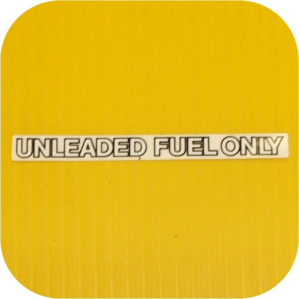 Unleaded Fuel Decal For Toyota Land Cruiser FJ40 FJ60 Sticker-0