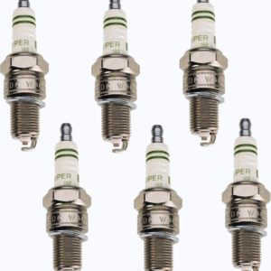 6 Spark Plugs for Land Cruiser FJ80 91-92 3Fe-0