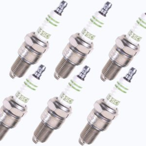 Bosch 6 Spark Plugs for Toyota Land Cruiser FJ40 FJ45 FJ55 FJ60 FJ62 1F 2F 3F-0