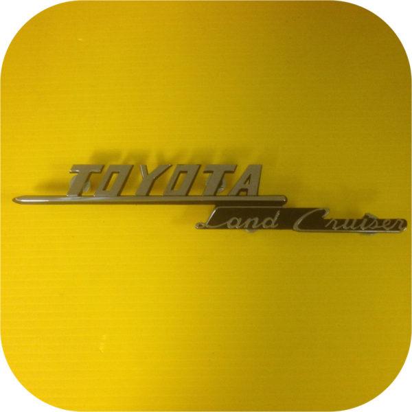 Side Apron Emblem Toyota Land Cruiser FJ40 69-74-0