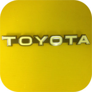 OEM Grill / Radiator Emblem for Toyota Land Cruiser FJ40 79-84 bib-0