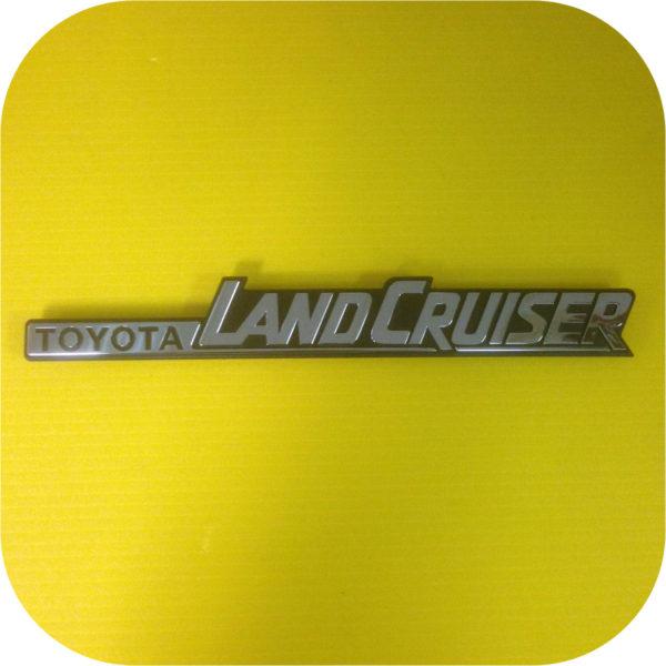 Rear Quarter Emblem Toyota Land Cruiser FJ60 FJ62-0