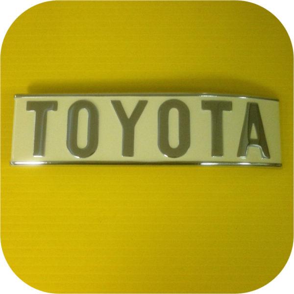 Rear Toyota Emblem for Toyota Land Cruiser FJ40 1/75-1/79-0