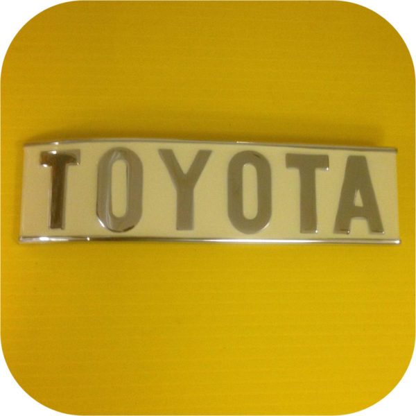 Rear Toyota Emblem for Toyota Land Cruiser FJ40 Early- 1/75-0