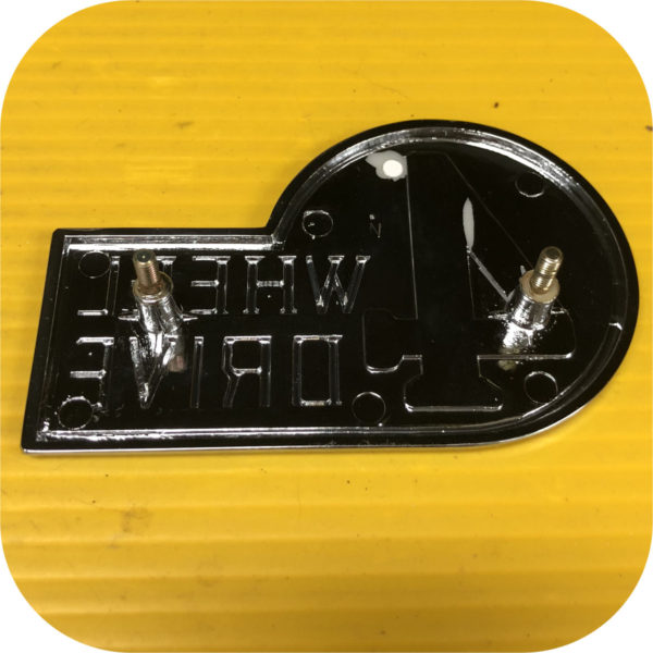 Rear 4WD emblem Toyota Land Cruiser FJ40 E to 1/79-21824