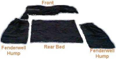 Toyota Land Cruiser FJ40 DELUXE Carpet Kit-0
