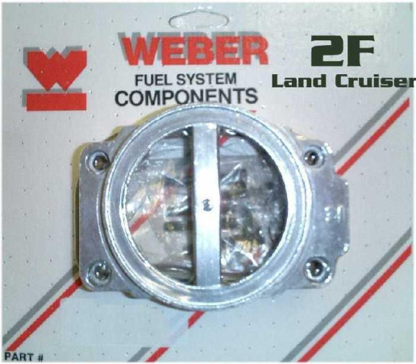 Weber Carburetor Stock Air Cleaner Adapter Toyota Land Cruiser 2F 32/36 38/38-0