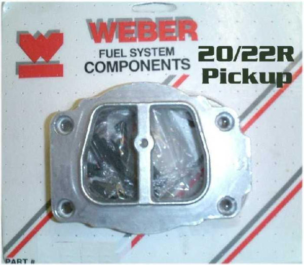 Weber Carburetor Stock Air Cleaner Adapter Toyota Pickup Truck 20R 22R 32/36 38-0