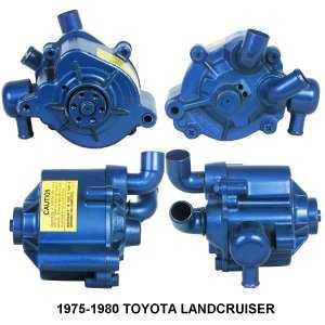 Smog Pump fits Toyota Land Cruiser FJ40 FJ55 75-80 -0