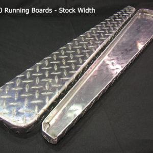 Running boards (pair) - checkerplate-0