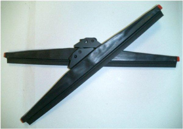 Pair Anco Winter Mud Wiper Blades for Toyota Land Cruiser FJ40 FJ45 Windshield-1791
