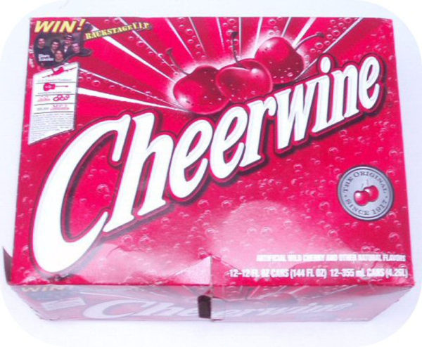 12 pack of CHEERWINE Cans cherry cola pop soft soda-0