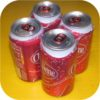 4 pack of CHEERWINE Cans cherry cola pop soft soda fizz-0