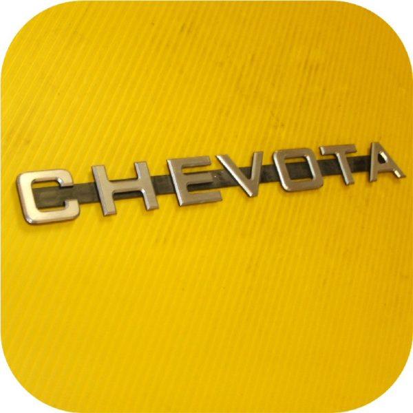 Chevota Front Radiator Grill Emblem for Toyota Land Cruiser FJ40 FJ45 V8 SBC-22699