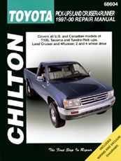 Chilton's 1997 through 2000 Toyota Manual-0