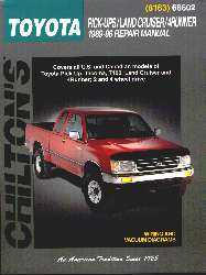 Chilton's 1989 through 1996 Toyota Manual-0