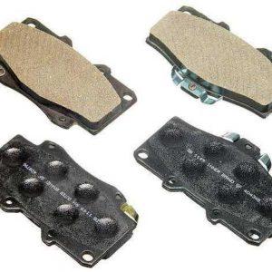 Metal Master Front Brake Pad Set - 4WD T100-0