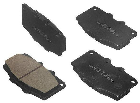 Front Brake Pads for Toyota Pickup Truck 4Runner 4wd 22r-0