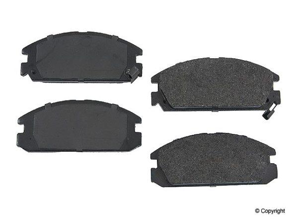 Front Brake Pads Honda Accord Prelude Si Acura Integra-0