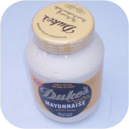 Duke's Mayonnaise 1 Quart Jar of Duke Dukes thick, creamy Mayo sauce-10111