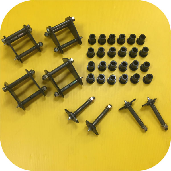 Greaseable Anti-inversion Spring Shackles and Pins for Toyota Land Cruiser FJ40-0