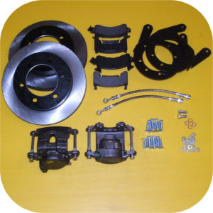 Front Disc Brake Conversion Kit for Toyota Land Cruiser FJ40 FJ45 FJ55 Drums-0