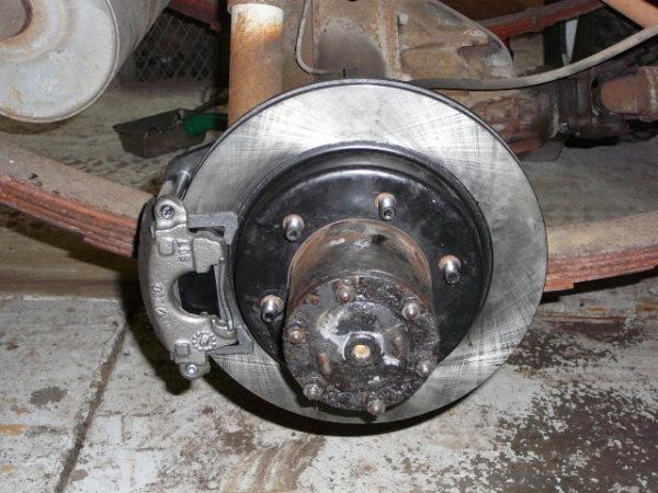 Rear Disc Brake Kit Toyota Land Cruiser FJ40 FJ45 FULL FLOATER-0
