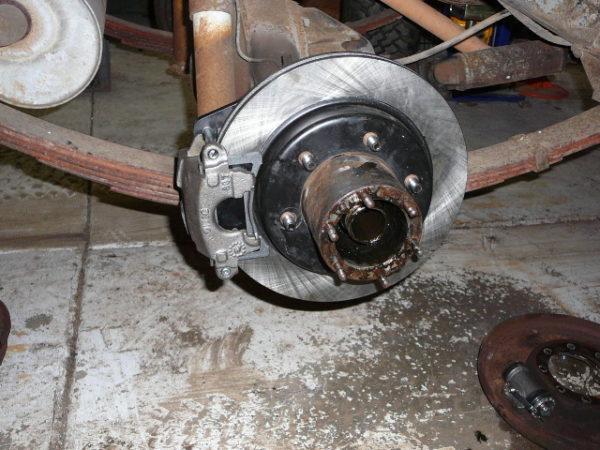 Rear Disc Brake Kit Toyota Land Cruiser FJ40 FJ45 FULL FLOATER-16529