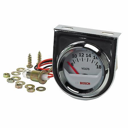 """Bosch 2"""" voltmeter gauge 12v alternator V8 Hot Rat Rod Mopar Chevy Ford Dodge-0"""